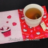 1 Hour Sewing Project – Valentine's Mug Rug