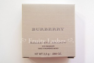 Burberry Sheer Eye Shadow box