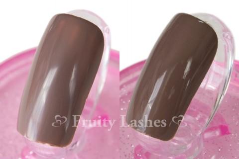 CND Jason Wu #574 Sophia 1 coat 2 coats swatch