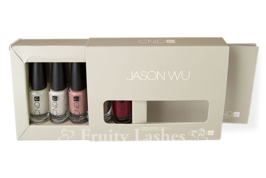 CND Jason Wu Collaboration Nail Color Collection Swatch And Review
