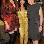 Khloe and Kourtney Kardashian at Nicole by OPI Kardashian Kolors launch with Suzi Weiss-Fischmann