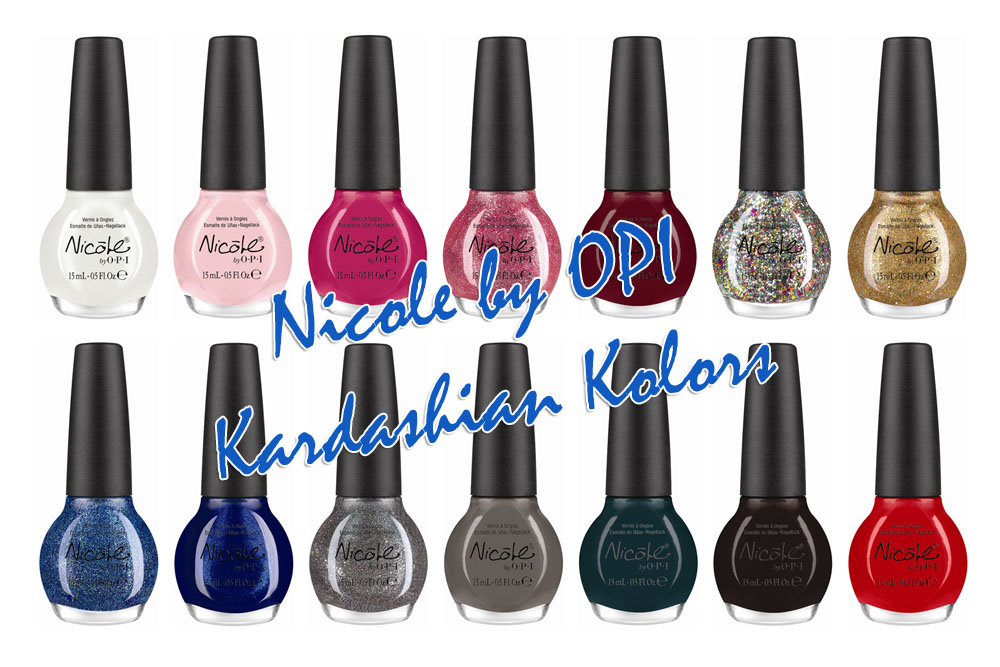 Nicole by OPI Announces Kardashian Partnership Featuring 14 ...