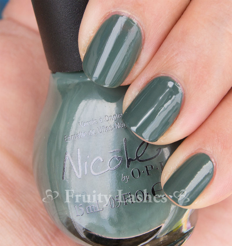 Nicole By OPI Something About Color Target Exclusives Swatch and ...