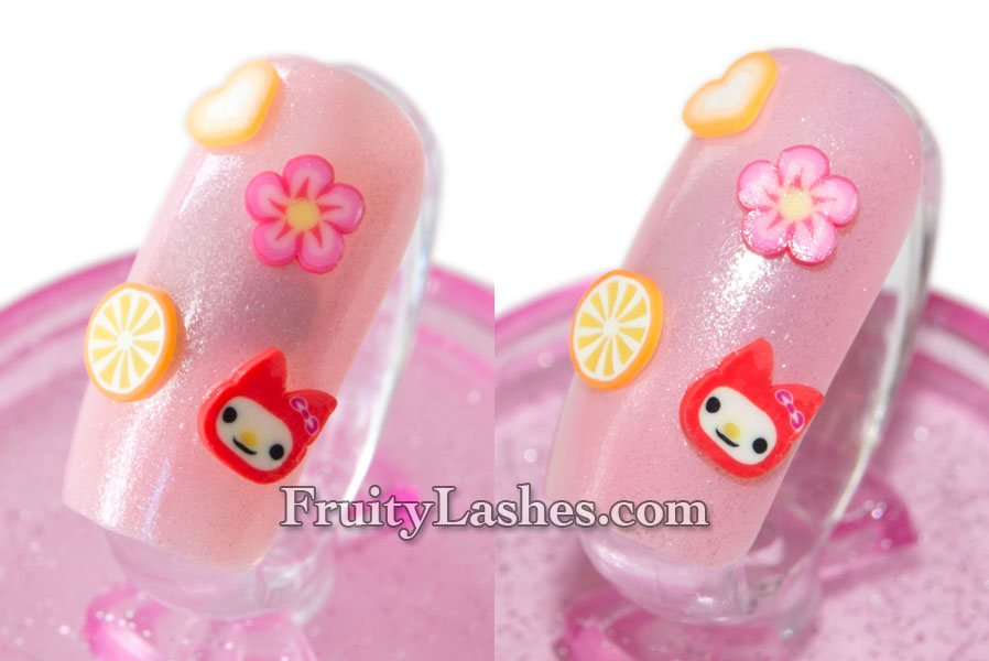 Cotw Hello Kitty Frosted Cupcake With Born Pretty Fimo Nail Art
