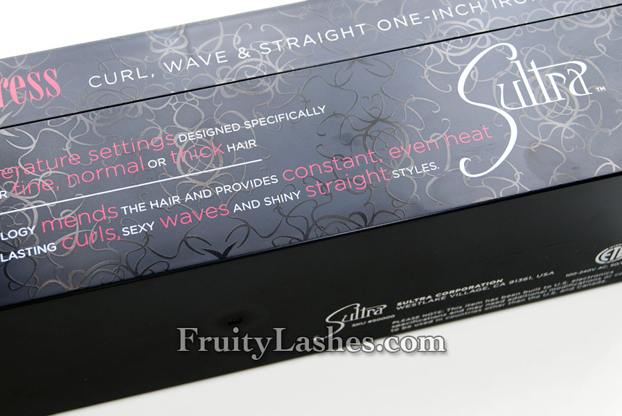 Sultra The Seductress Curl Wave Amp Straight One Inch Iron