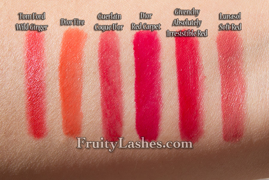 Tom Ford Beauty Lip Color 15 Wild Ginger Swatch And Review