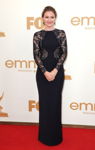 Kelly Macdonald 63rd Emmy Awards Nars Larger Than Life