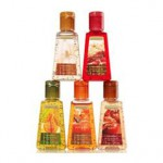 Bath & Body Works Anti-Bacterial PocketBac® Sanitizing Hand Gel 5-Pack Fall Treats Bundle