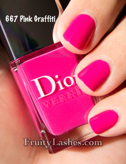 Dior Nail Polish Anselm Reyle Collection 687 Ultra Violet 904 ...
