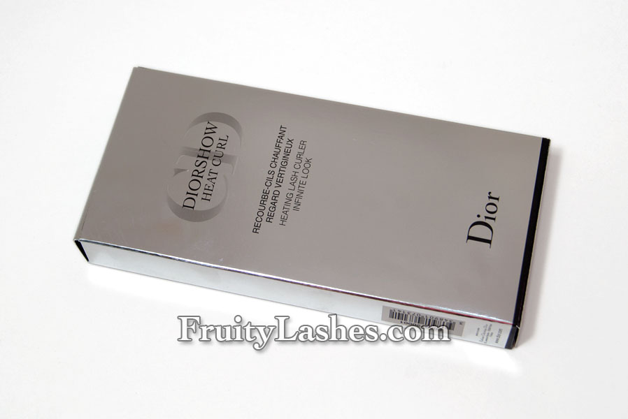 Dior Diorshow Heat Curl Heating Lash Curler Review | Fruity