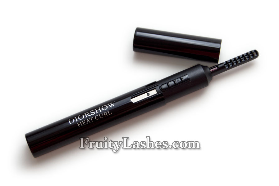 Dior Diorshow Heat Curl Heating Lash Curler Review Fruity Lashes
