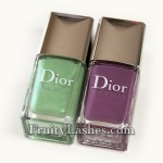 Dior Spring 2012 Garden Party Scented Nail Polish 504 Waterlily 694 Forget-Me-Not