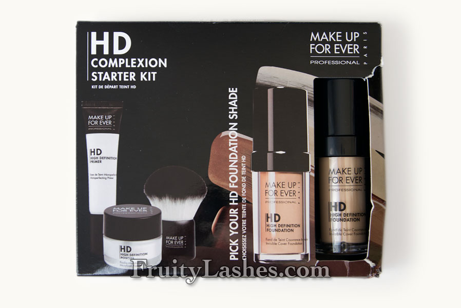 MAKE UP FOR EVER HD Complexion Starter Kit in HD Invisible Cover ...