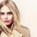 Burberry Beauty Spring Summer 2012 Look featuring Cara Delevingne