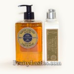 L'occitane Shea Butter Verbena Liquid Soap Verbena Body Lotion