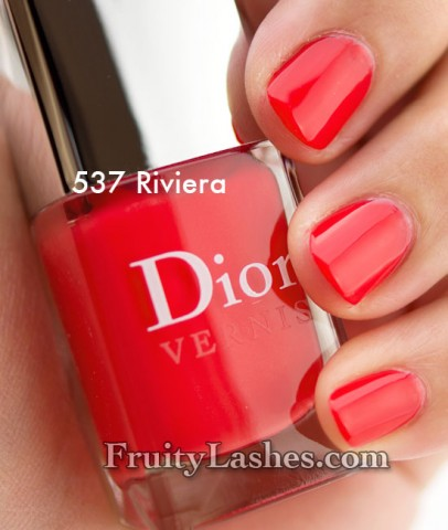 Dior Addict Vernis 537 Riviera 659 Lucky 579 Plaza 257 Incognito Swatches And Review Fruity Lashes