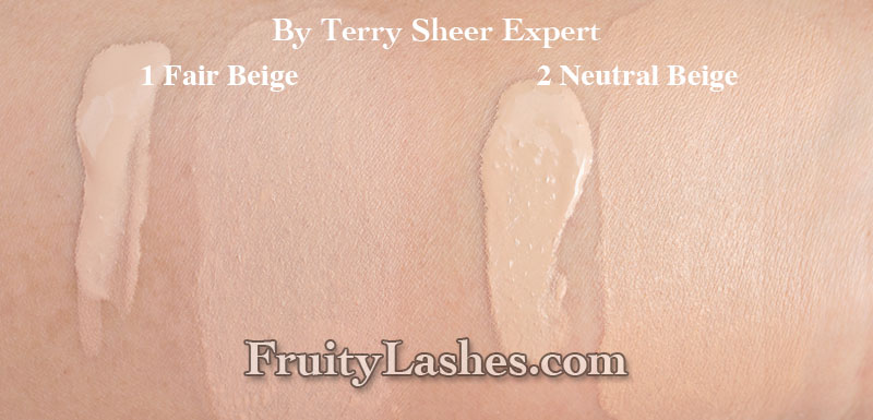 85015a4bcb96 By Terry Sheer-Expert and Cover-Expert Foundation Review and Swatch ...