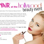 Dinair at the Hollywood Beauty Event
