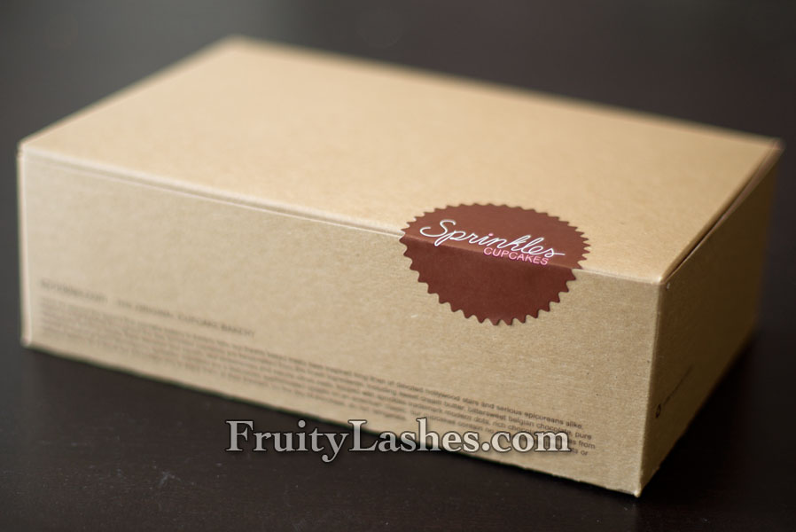 sprinkles cupcakes box