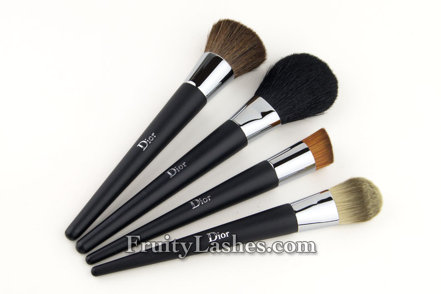 68fbe1a047 Dior Backstage Brushes Nude Foundation Brushes Review | Fruity Lashes