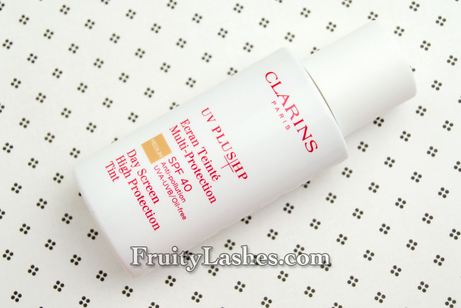Clarins uv plus high performance spf 40
