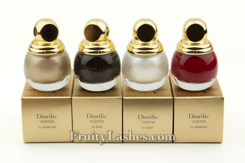 Dior Grand Bal Collection Diorific Vernis Holiday 2012