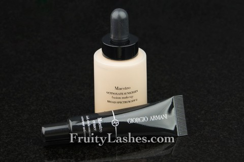Giorgio Armani Maestro Foundation and Eraser Concealer
