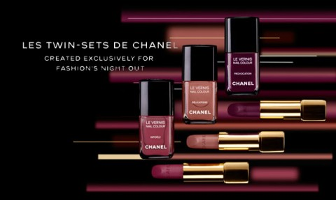 Les Twin-Sets de Chanel Fashion's Night Out 2012
