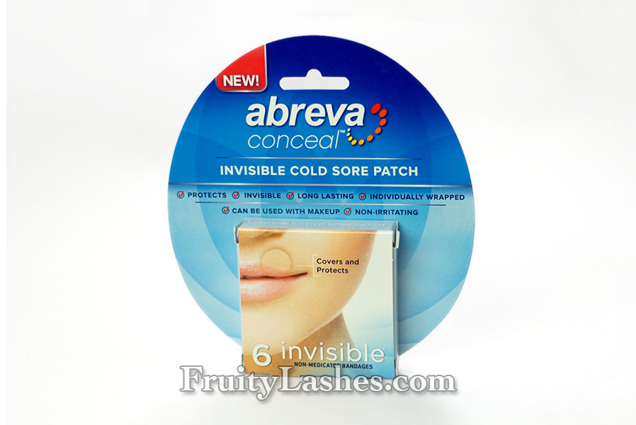 Keep Cold Sores Clean and Concealed with Abreva Conceal