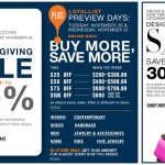 Bloomingdales BF 2012 Sale