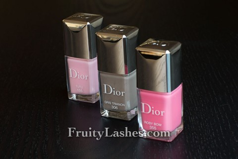 Dior Spring 2013 Cherie Bow Makeup Collection Vernis