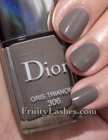Dior Spring 2013 Cherie Bow Vernis 306 Gris Trianon Swatch
