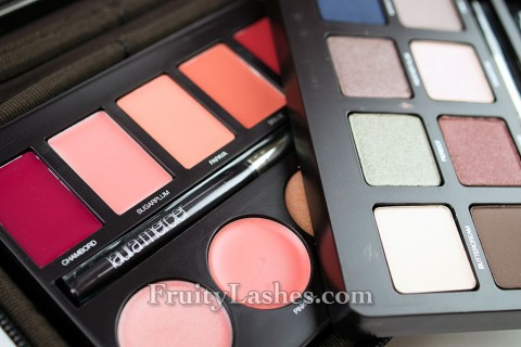 LM glamour wardrobe holiday palette 2012