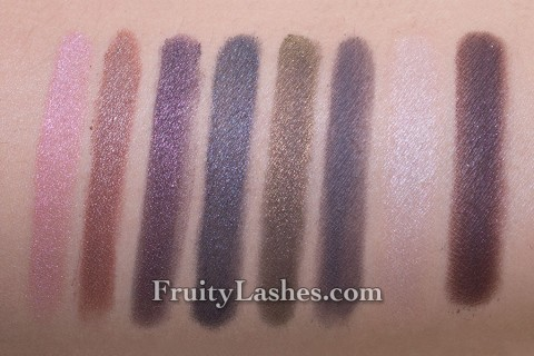 BareMinerals Holiday 2012 The Royal Treatment Eyecolor Swatch