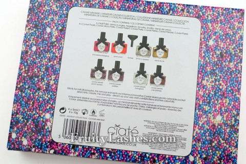 Ciate Caviar Mini Bar Box Back