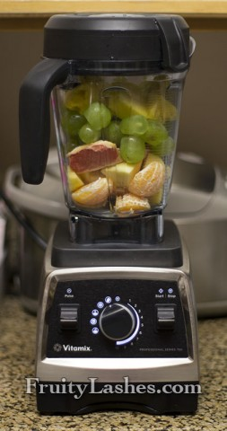 Fruits in Vitamix