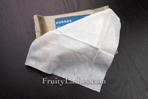 Korres Milk Proteins Wipe