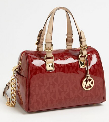Michael Kors Grayson Signature Medium Satchel