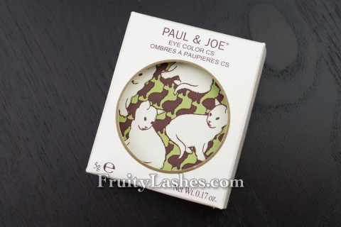 Paul & Joe Eye Color CS 083 Montmartre Packaging