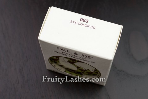 Paul & Joe Eye Color CS 083 Packaging