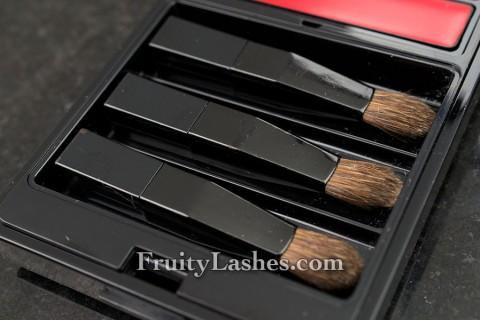 Serge Lutens Red Lip Palette Brushes