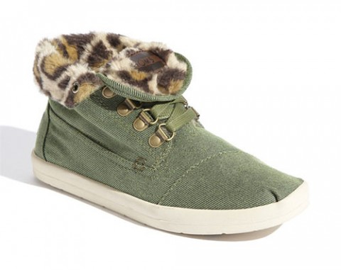 TOMS Botas Highlands Fleece Chukka Boot