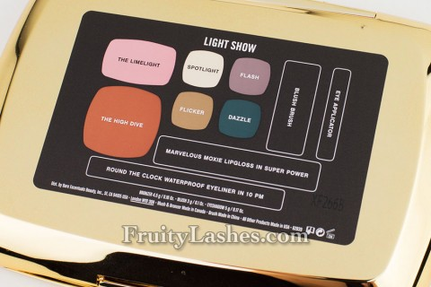 bareMinerals Holiday 2012 Light Show Palette Content