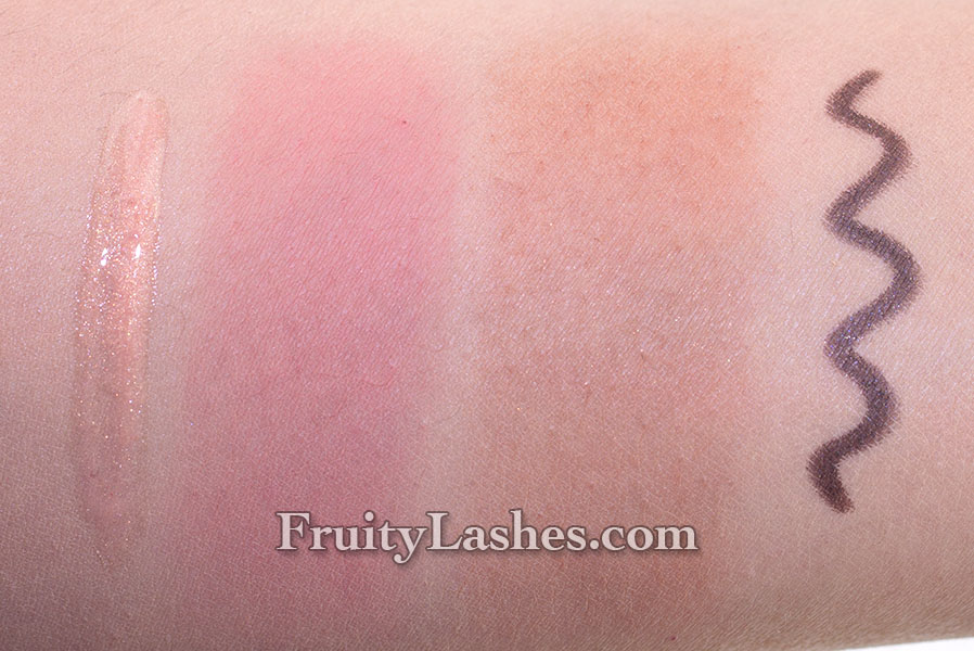 bareMinerals Light Show Swatches Review | Fruity Lashes