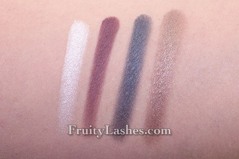 bareMinerals Light Show Palette Ready Eyeshadow Swatch