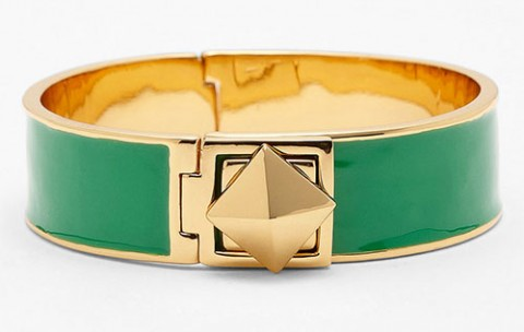 kate spade new york locked in stud hinged bangle