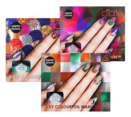 Ciate Very Colourfoil Manicure Sets