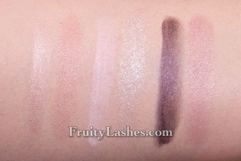 Jill Stuart Holiday 2012 Prism Carat Eyes Swatches