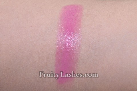 Lancome Baume In Love Tinted Lipbalm 130 Midnight Rose Swatch