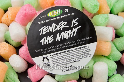 Lush Valentine 2013 Be Mine Gift Tender Is The Night